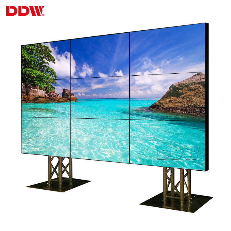 5.3mm Seamless LCD Display , 500 Nits LED Backlit  Multiple TV Video Wall